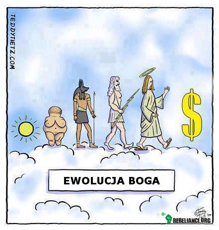 Ewolucja Boga –
