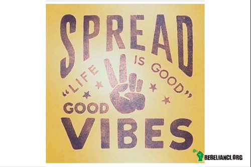 Let the good vibes get a lot stronger – http://www.youtube.com/watch?v=mPjIC0TRstY