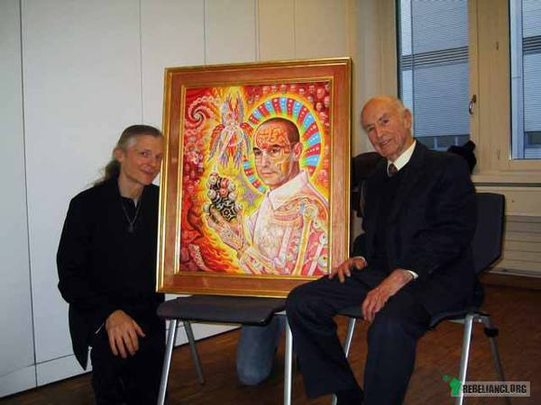 Albert Hoffman i Alex Grey –