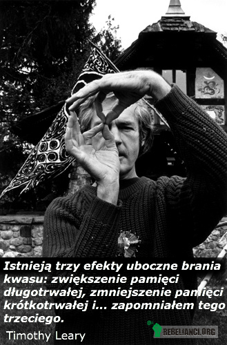 Timothy Leary –