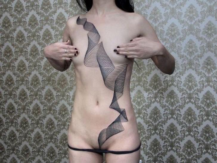 Tatuaże Tylko Dla Odważnych Kobiet