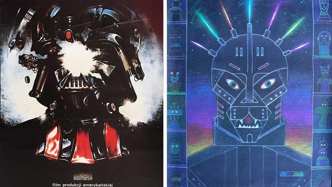 Stare Plakaty Gwiezdnych Wojen Z Krajów Bloku Wschodniego